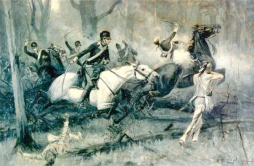 large size Battle of Fallen Timbers